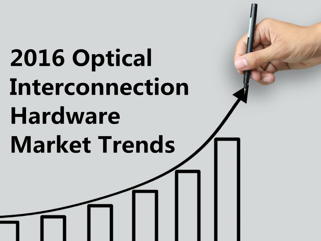 2016 optical interconnection hardware market trend