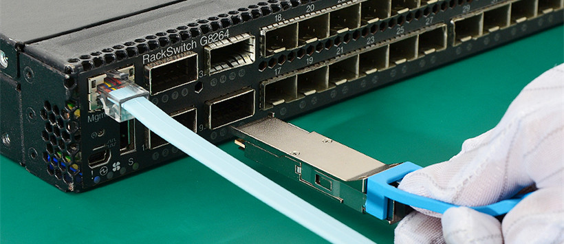 IBM G8264 switch and 40GBASE QSFP+ transceiver