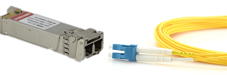 10G SFP+ transceiver and duplex patch cable