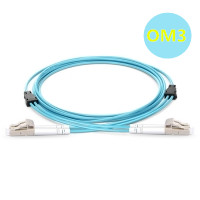 OM3 armored fiber patch cable
