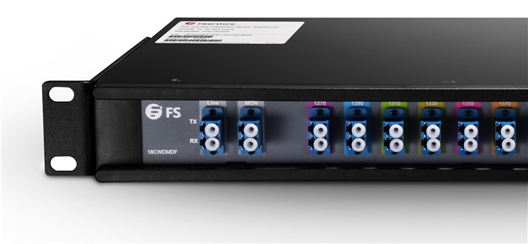 4-channel CWDM with monitor port