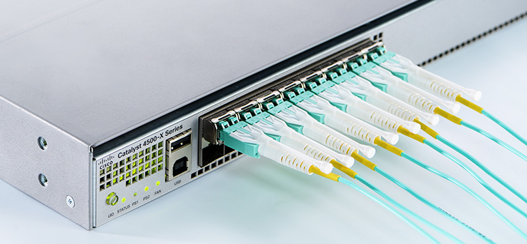 LC push-pull fiber patch cable