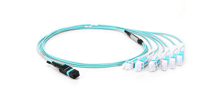 push-pull MTP-LC fiber patch cable