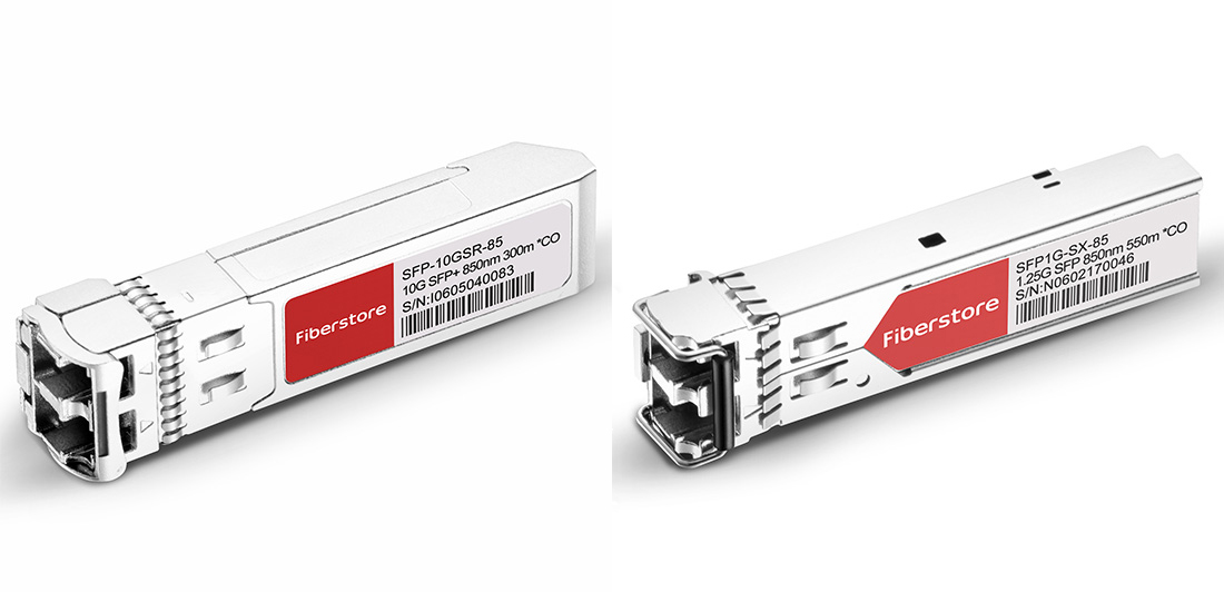 10GBASE-SR vs 1000BASE-SX