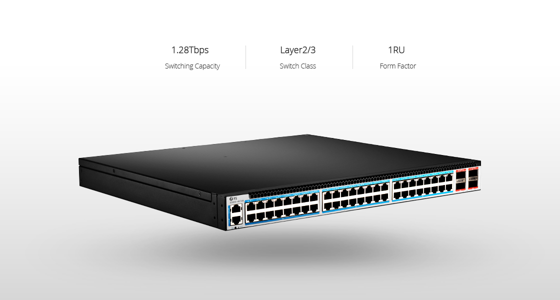 48 port 10gbase-t switch